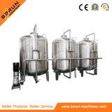 Cadena de producción de relleno del agua mineral de la botella del animal doméstico