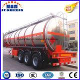 3車軸52cbmアルミ合金のディーゼルかガソリンまたはガソリンまたは原の油または燃料のタンカー
