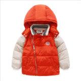 Roupa bonito do bebê do Zipper diagonal da fita para o inverno
