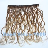 Clip ondulado del pelo de la Virgen en la extensión del pelo