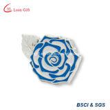 Kundenspezifische Metallgoldharte Decklack-Blumen-Stifte