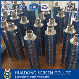 Filtre d'eau de bougie de fil de cale de l'écran de fil de cale 316L