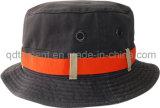 Chapéu obrigatório lavado da cubeta da pesca de esporte do Twill do contraste (TRBH016)