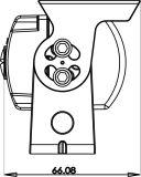 バックアップカメラのための自動車機密保護の部品