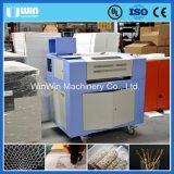 Máquina de corte de metal de tecido Cortador de couro acrílico de pano de CO2 Laser