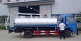 4X2 Dongfeng 5000L 찌끼 흡입 탱크 5tons 찌끼 진공 트럭