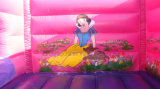 Riesiges kombiniertes aufblasbares Prahler-Schloss-Plättchen, aufblasbarer Prahler, Schlag-Haus