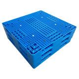 使用のプラスチックパレットをスタックする厚地のリバーシブル