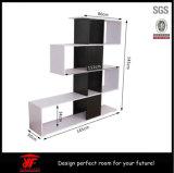Bibliothèque d'unité de visualisation de Shelfs de mémoire rayonnant la crémaillère d'étalage en bois
