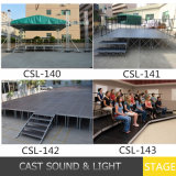 Im FreienRidge Tent/Wedding Stage/Combined Aluminum Stage für Sale