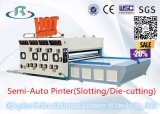 A impressora semiautomática Slotter morre o cortador