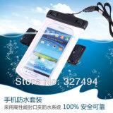 Sacchetto impermeabile della spiaggia, alloggiamento sacchetto filtro impermeabile del PVC per il telefono mobile