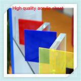 Precio de acrílico coloreado irrompible de la hoja del molde PMMA