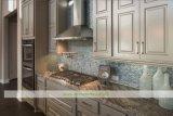 Cucina marrone chiaro di legno solido (WH-D993)