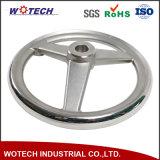 Подгонянная потерянная нержавеющей сталью плавильня отливки колеса руки отливки воска
