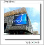 Exhibición de LED a todo color al aire libre de la ventilación baja de la consumición P25.6
