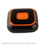 Il mini inseguitore di GPS del grande tasto di SOS con cade funzione dell'allarme