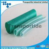 Manguito espiral acanalado de enrrollamiento de la succión del PVC con buen precio
