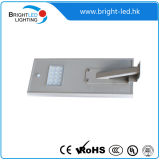 Ce RoHS IP66 Sensor All in One LED Solar Street Light