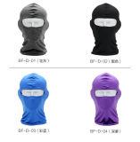 Tampa principal Windproof principal Anti-UV respirável da máscara protetora da tampa/