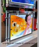 Double Side Crystal Indoor Media Publicité LED Light Box