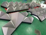 Magische W Form-Bildschirmanzeige der äquilaterales Dreieck-Baugruppen-Synthese-speziellen Form-