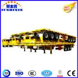 2 Axles/3 Behälter der Wellen-20FT/40FT/Ladung-Plattform/Flachbett-LKW-halb Schlussteile, LKWas für Verkauf in Kenia