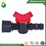 Mini válvula de la válvula del agua de la irrigación agrícola plástica del control