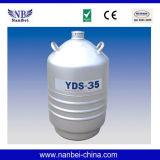 저장 유형 정액 Cryopreservation 액체 질소 탱크