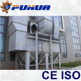Areia Blasting Booths com Abrasive Recovery System