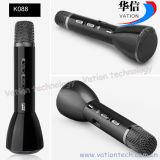 K088携帯用小型カラオケのマイクロフォン、Bluetoothのカラオケプレーヤー