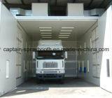 Cabine de pulverizador personalizada do caminhão, auto equipamento industrial do revestimento, quarto da pintura