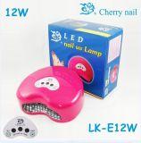 Produtos UV da patente do tipo da cereja da lâmpada do prego do diodo emissor de luz (LK-E12W)