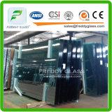 19mmの緩和されたガラスのゆとりによって強くされるガラス安全ガラス