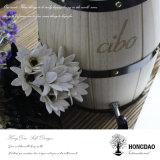 Hongdao 주문 결혼식 훈장 Use_L를 위한 나무로 되는 위스키 포도주 배럴