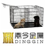 Hight Qualitätsdoppelte Tür-Hundeträger mit Teiler