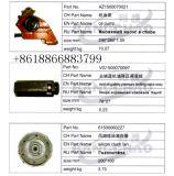 Sinotruck HOWO LKW-Ersatzteil-Selbstzusatzgeräten-Ventilator mit Ring