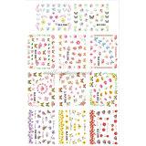 Accessori del manicure dei prodotti di bellezza dell'autoadesivo della decalcomania dell'acqua di arte del chiodo (NPP11)