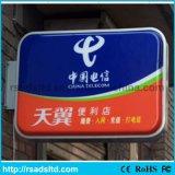 La publicité du cadre léger de aspiration acrylique de signe de DEL