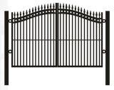工場低価格の錬鉄の庭の塀