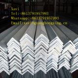 Ángulo de acero galvanizado sumergido caliente de Q235B, acero del ángulo