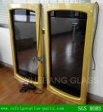 Lcd-transparente Bildschirmanzeige-Glastür für Gefriermaschine