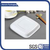 Personalizar o recipiente plástico descartável da placa