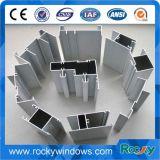 Pente élevée Windows et profils d'aluminium d'extrusions de portes