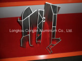Aluminiumstrangpresßling-Profile des Gleiss