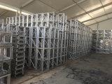 Напольная алюминиевая поддержка ферменной конструкции с крышей