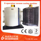 Máquina de aluminio de cristal de la vacuometalización de la máquina/del metal de capa