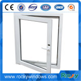 Thermischer Bruch-wasserdichtes doppeltes glasig-glänzendes Aluminium und Kurbelgehäuse-Belüftung Windows und Türen