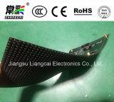 Quadro de avisos macio flexível de dobra do diodo emissor de luz do módulo P5 da tela de indicador do diodo emissor de luz