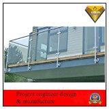 Carril de protector de cristal del acceso del acero inoxidable (JBD-Z23)